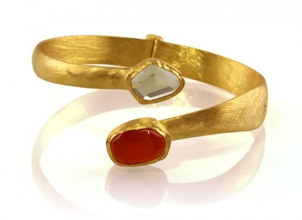 Red-Gold-Dust-Spiral-Bracelet-1