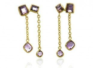 Purple-Dust-Gold-Green-Chain-Earing1-white-edit