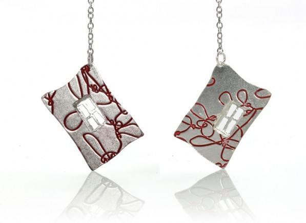 Silver-Red-Window-Earing1